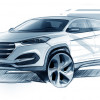 Hyundai Reveals First Design Sketch of All-New Tucson