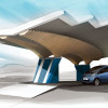 Peugeot Design Lab Creates Solar-Powered Charging Station for DRIVECO