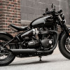 Triumph Reveals Bonneville Bobber Black for 2018