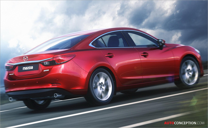New Mazda 6 Set for World Premiere at 2012 Moscow Motor Show