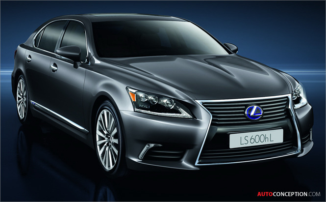 Lexus Reveals the New LS