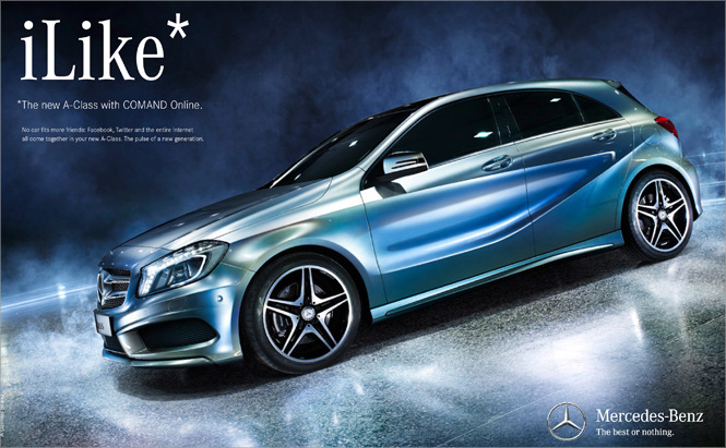 Mercedes-Benz Embarks on Campaign to Mark the Launch of the New A-Class