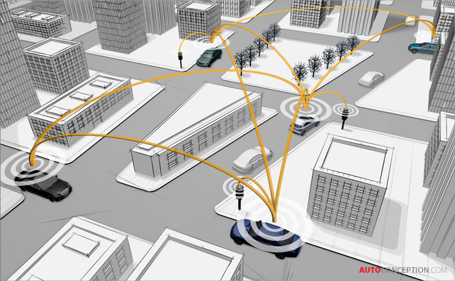 Mercedes-Benz Developing Vehicle-to-Vehicle Communication Systems