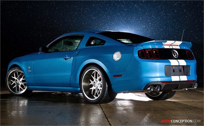 2013 Ford Shelby GT500 Cobra Created as Tribute to Carroll Shelby