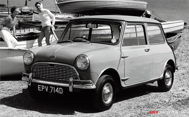 The Original Mini Voted as 'Greatest British Car Ever Made'