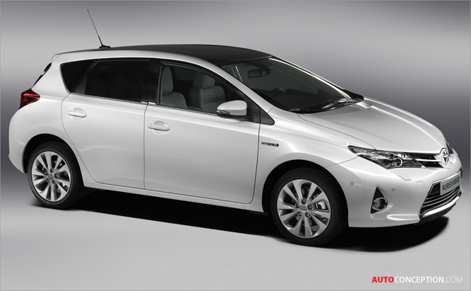 Toyota to Reveal New Auris at Paris Motor Show