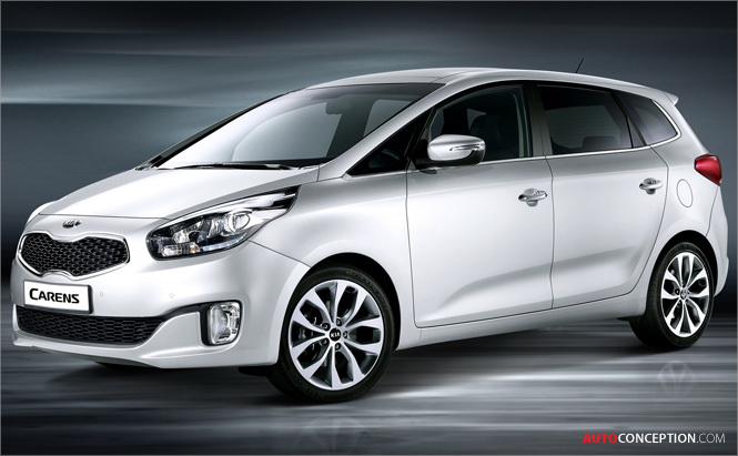 Paris Motor Show: Kia Reveals All-New Carens MPV