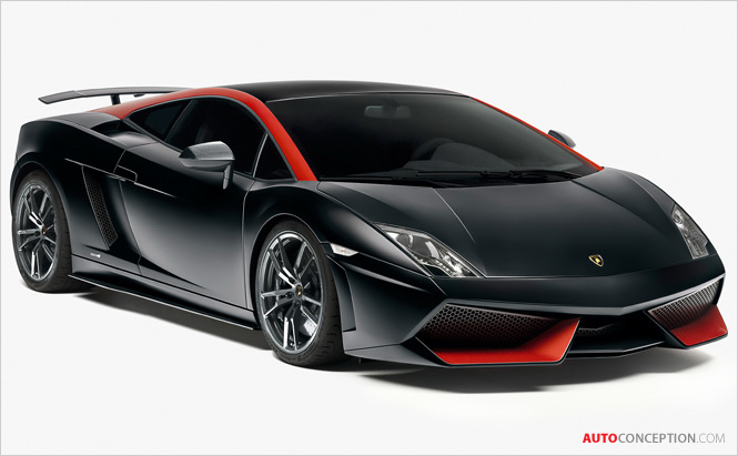 New Gallardo LP 560-4 and LP 570-4 Edizione Tecnica Premiere at the 2012 Paris Motorshow