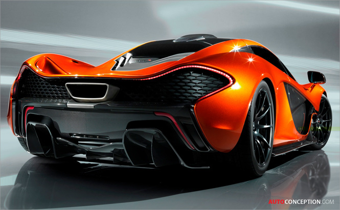 McLaren Automotive Unveils P1 Supercar Design Study