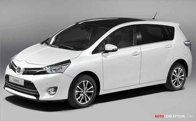 Paris Motor Show: New Toyota Verso