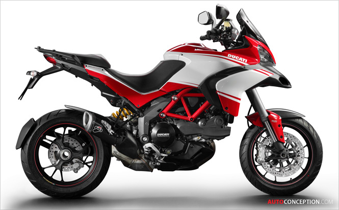 Ducati Releases Images of 2013 Multistrada Models