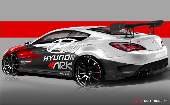 Ark Performance to Unveil Hyundai Genesis Coupe R-Spec Track Edition at 2012 SEMA Show