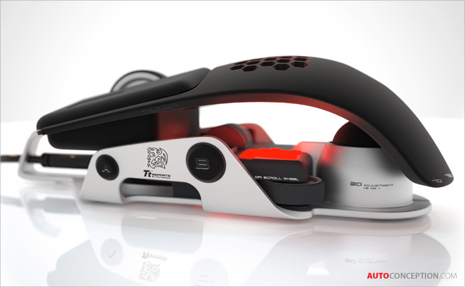 BMW Group DesignworksUSA Designs Thermaltake´s Level 10 M Computer Mouse