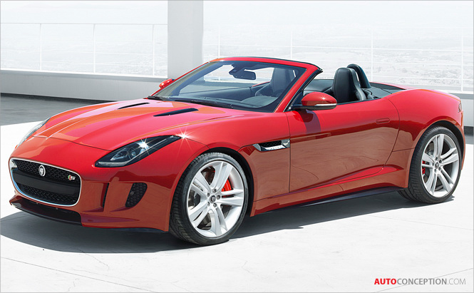 Jaguar F-TYPE Officially Unveiled at Paris Event