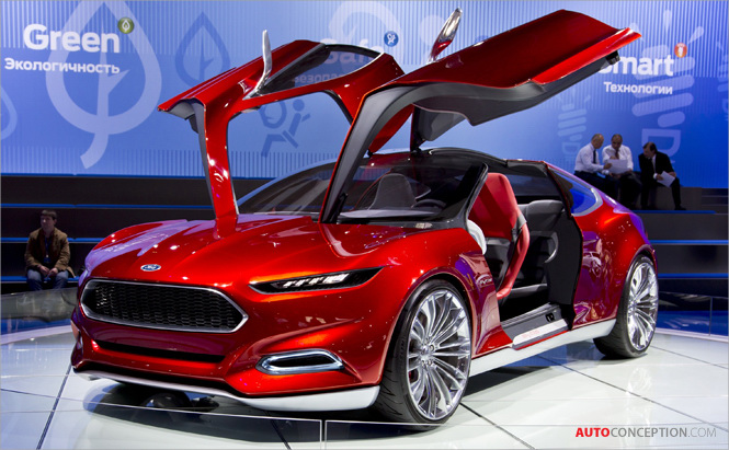 Photo Gallery: Moscow Auto Show 2012