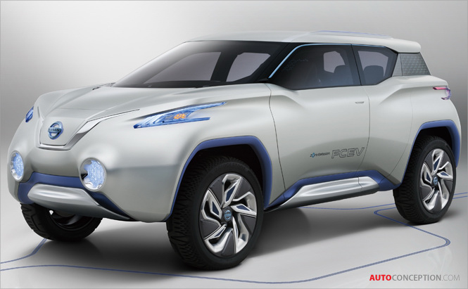 Nissan's TeRRA Forms New Zero Emission SUV Concept at 2012 Paris Motor Show