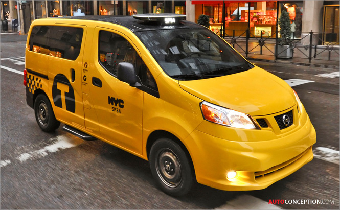 Nissan NV200 Taxi Design Chosen as the Official Taxicab of New York City