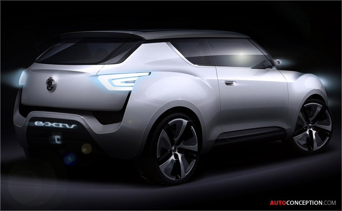SsangYong Previews e-XIV Concept Ahead of Paris Motor Show 2012