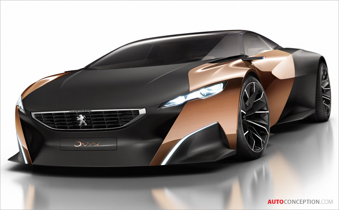 Full Story: Peugeot 'Onyx' Supercar Concept