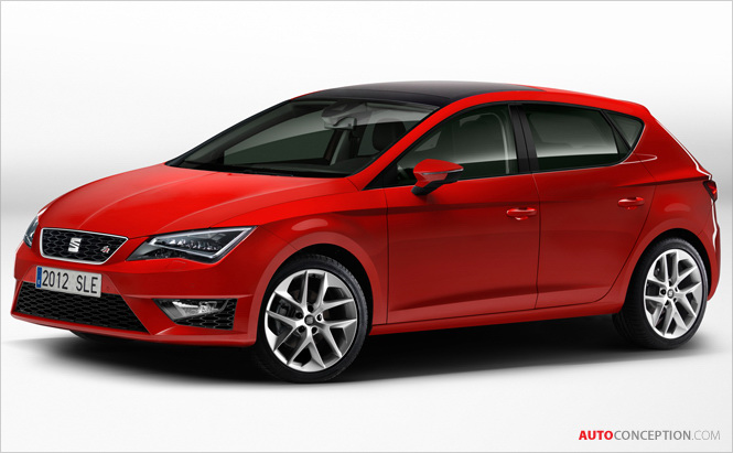 Seat Reveals New 2013 Leon and Mii FR Line Concept