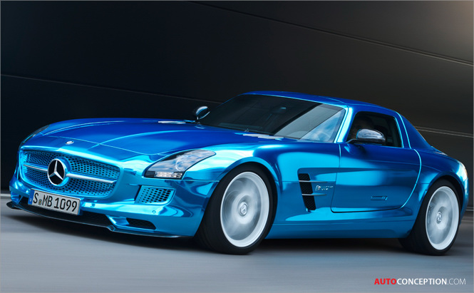 SLS AMG Coupé Electric Drive Makes Claim for Most Powerful Electric Super Car in the World