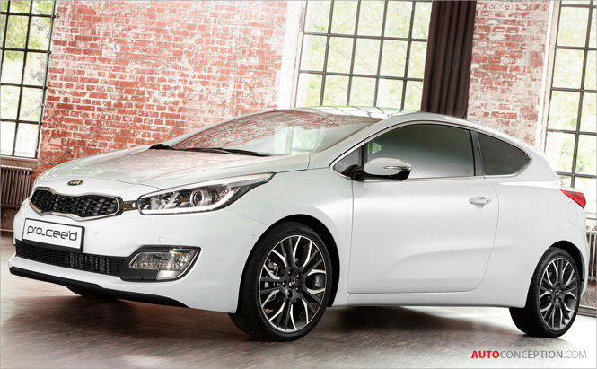 World Premiere for New Kia Pro_cee'd at 2012 Paris Motor Show