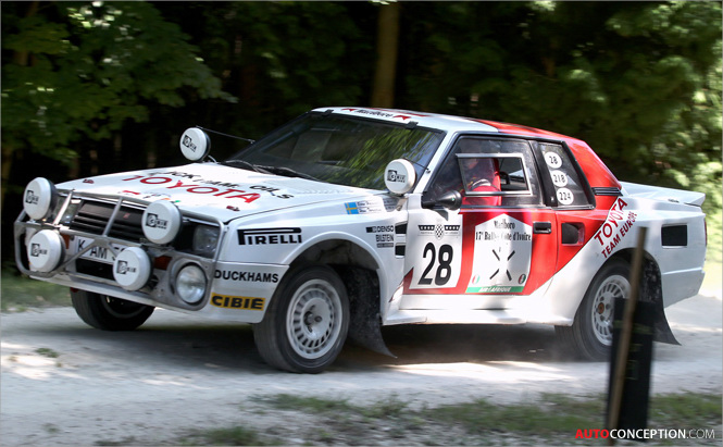 Call for Entries: CyDesign Labs Group B Rally Car Design Competition
