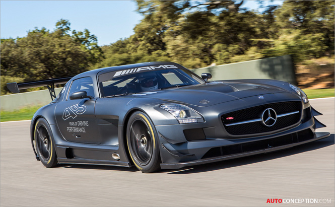 Limited Edition SLS AMG GT3 Marks 45th ANNIVERSARY of Mercedes-AMG