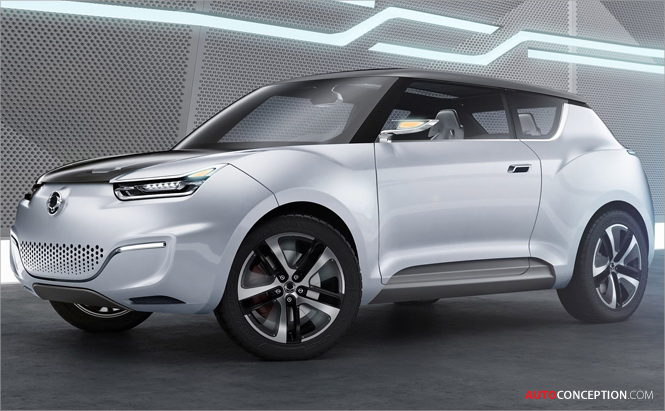 Full Lowdown: SsangYong e-XIV Concept Car