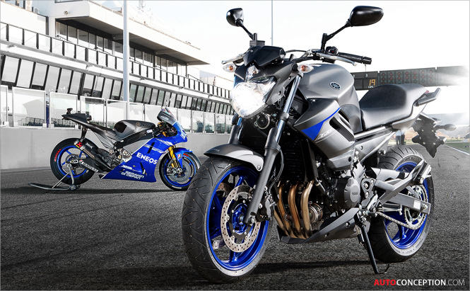 New Yamaha XJ Series in Limited Edition 'Race Blu'