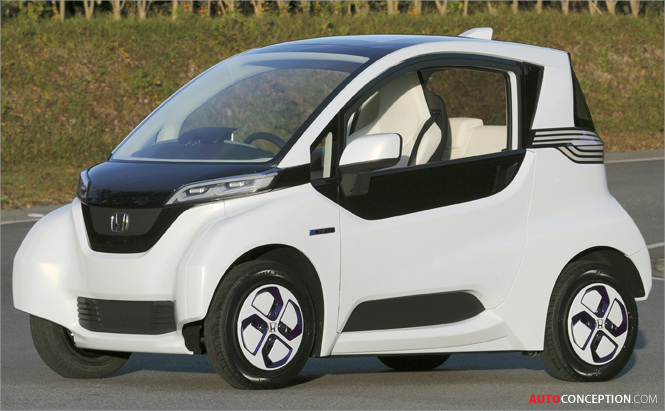 Honda Unveils Micro-Sized Electric Vehicle