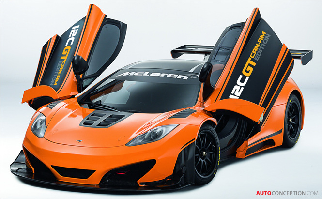 McLaren MP4-12C Can-Am Design Study Readied for Production