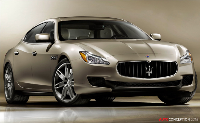 New Maserati Quattroporte Set to Debut at 2013 NAIAS in Detroit