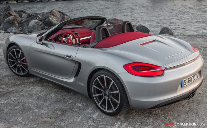 Porsche Boxster Wins 2013 Automobile Magazine Design of the Year