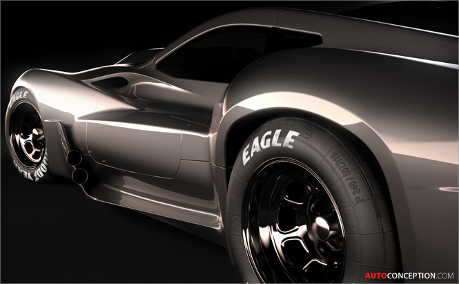 Muscle Car Concept: Shelby Coupe - AutoConception.com