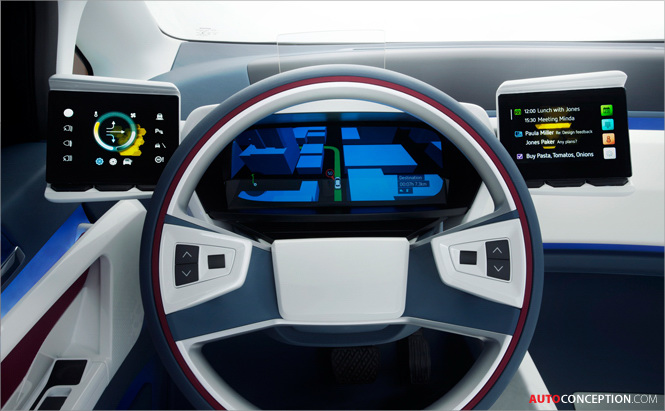 Visteon Premiers New E Bee Vehicle Concept Demonstrating Vision For Mobility In 2020