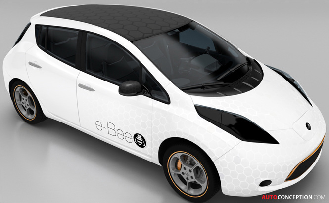 Visteon Premiers New e-Bee Vehicle Concept, Demonstrating Vision for Mobility in 2020