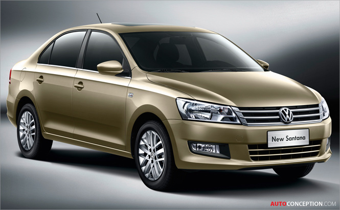 Volkswagen Launches New Santana Model in China