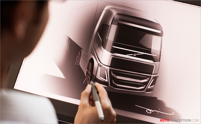 Design Story: Volvo FH Truck