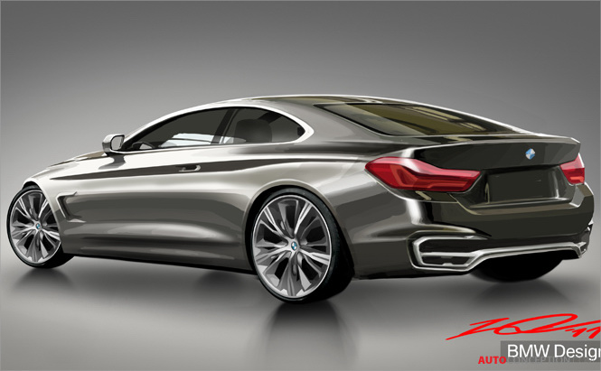 full gallery bmw unveils concept 4 coupe. Black Bedroom Furniture Sets. Home Design Ideas
