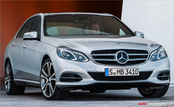 Mercedes E-Class: New Facelifted Design Revealed