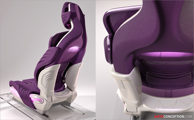 Car Interior Design Faurecia Showcases New Seating Trends
