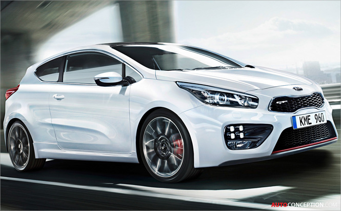 New Suped Up Kia GT Variants Set for Geneva Reveal