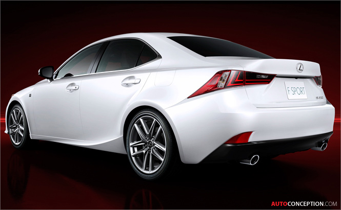 New Lexus IS Design: First Official Images