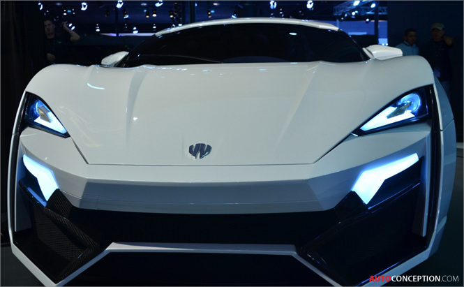 Lykan Hypersport 2013: Arab Supercar Breaks Cover at Qatar Motor Show