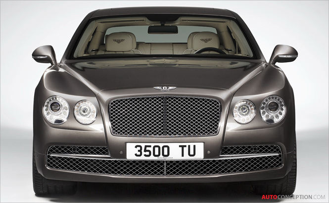 Bentley Launches Most Powerful Flying Spur Ever