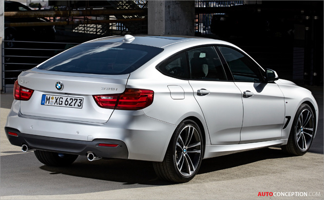 New BMW 3 Series Gran Turismo Revealed