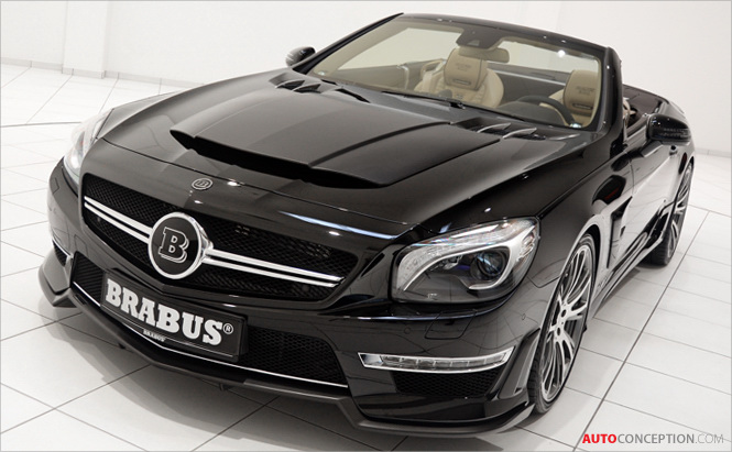 Mercedes BRABUS 800 Roadster to Debut at Geneva Motor Show