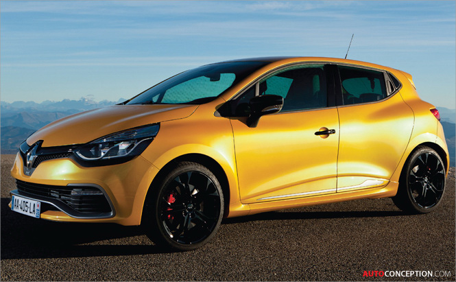 New Clio Renaultsport 200 Turbo Borrows Ideas from Motorsport and Video Games