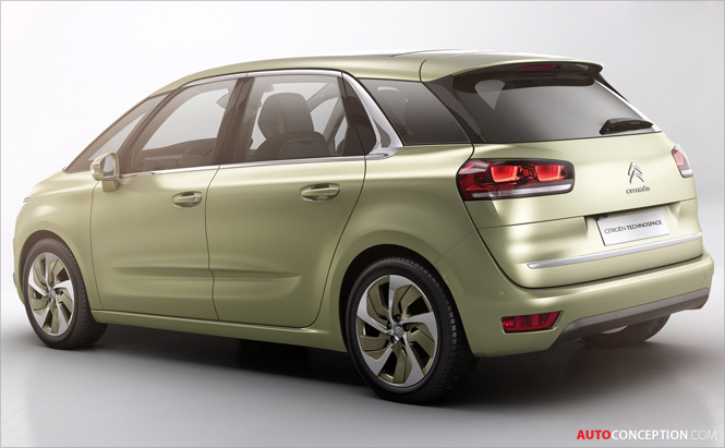 Citroen Reveals TECHNOSPACE MPV Concept